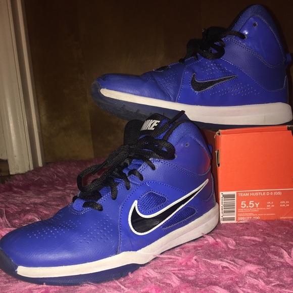 Cool Blue Nike Basketball Shoes